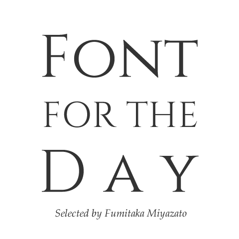 Font for the Day