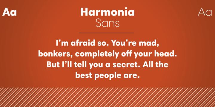 Harmonia Sans