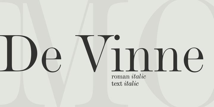 De Vinne