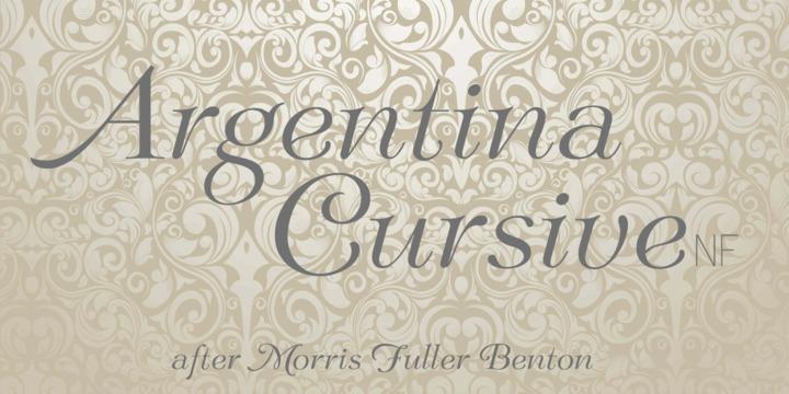 Argentina Cursive NF