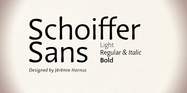 Schoiffer Sans