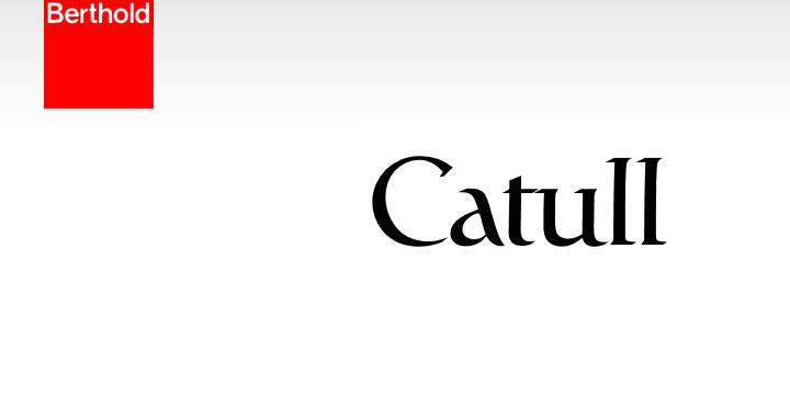 Catull Pro