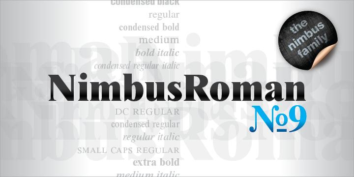 Nimbus Roman No 9