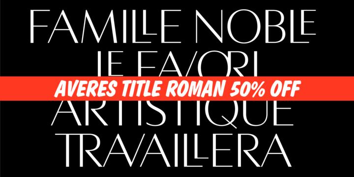 Averes Title Roman
