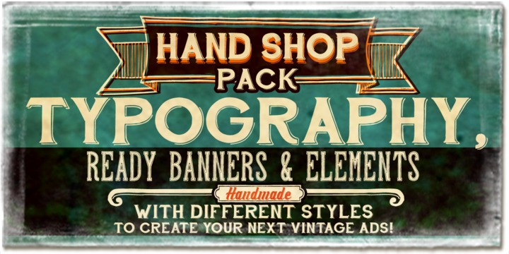 Hand Shop Pack