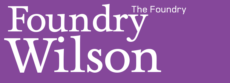 Foundry Wilson