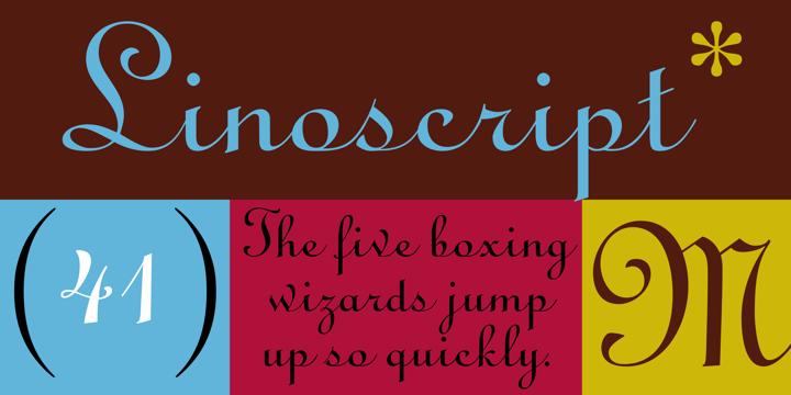 Linoscript