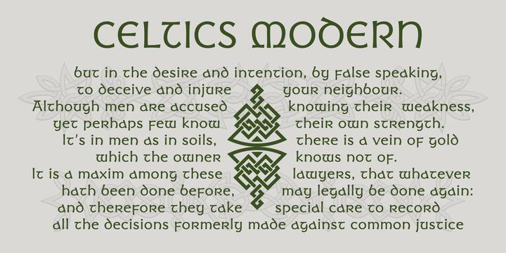 Celtics Modern