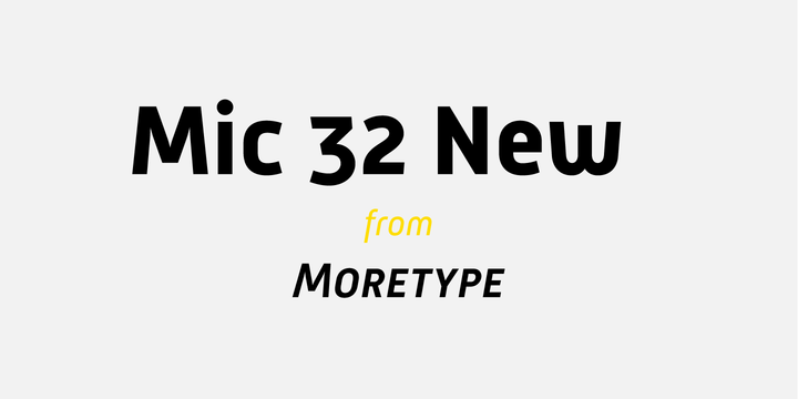 Mic 32 New