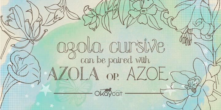 Azola Cursive