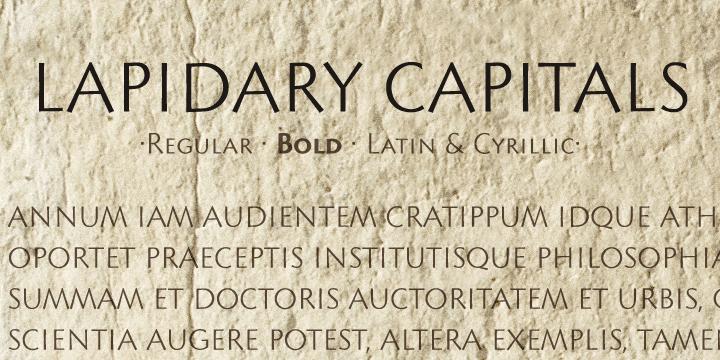 Lapidary Capitals