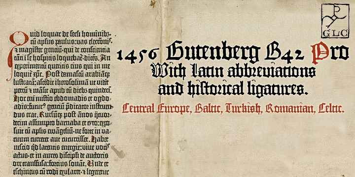 1456 Gutenberg B42 Pro