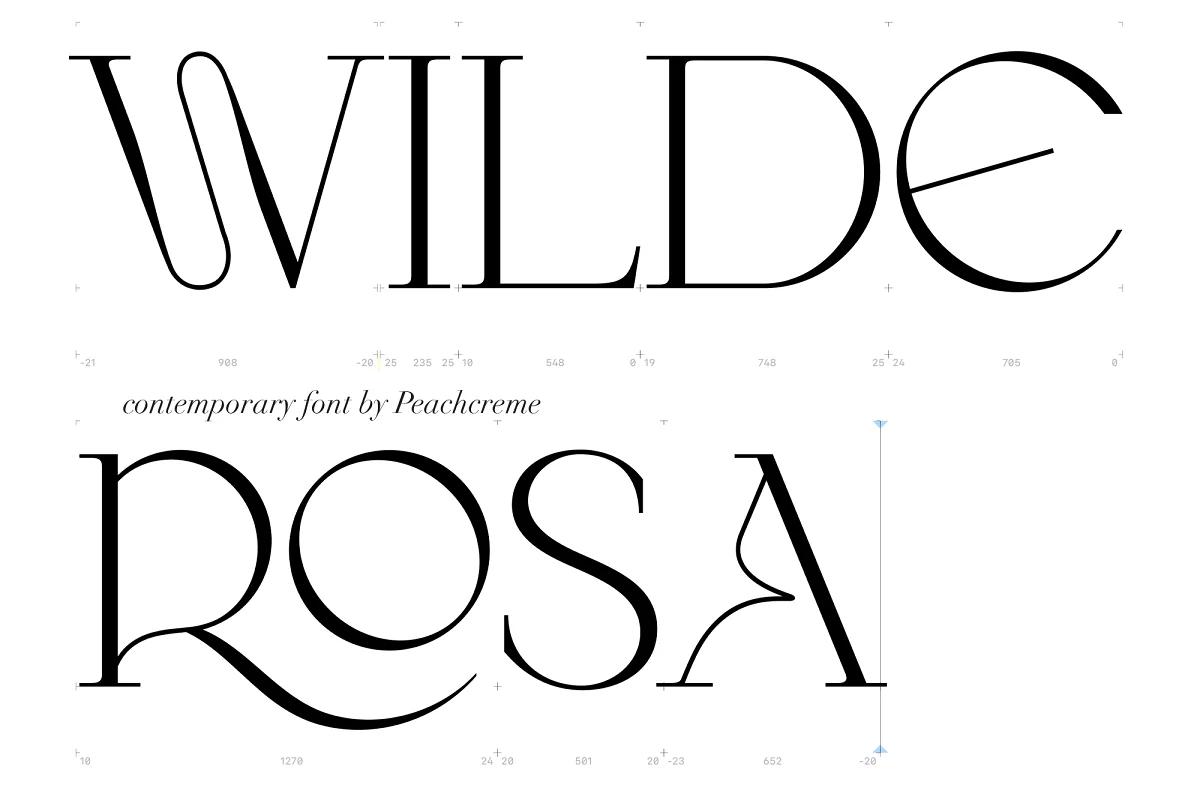 Wilde Rosa